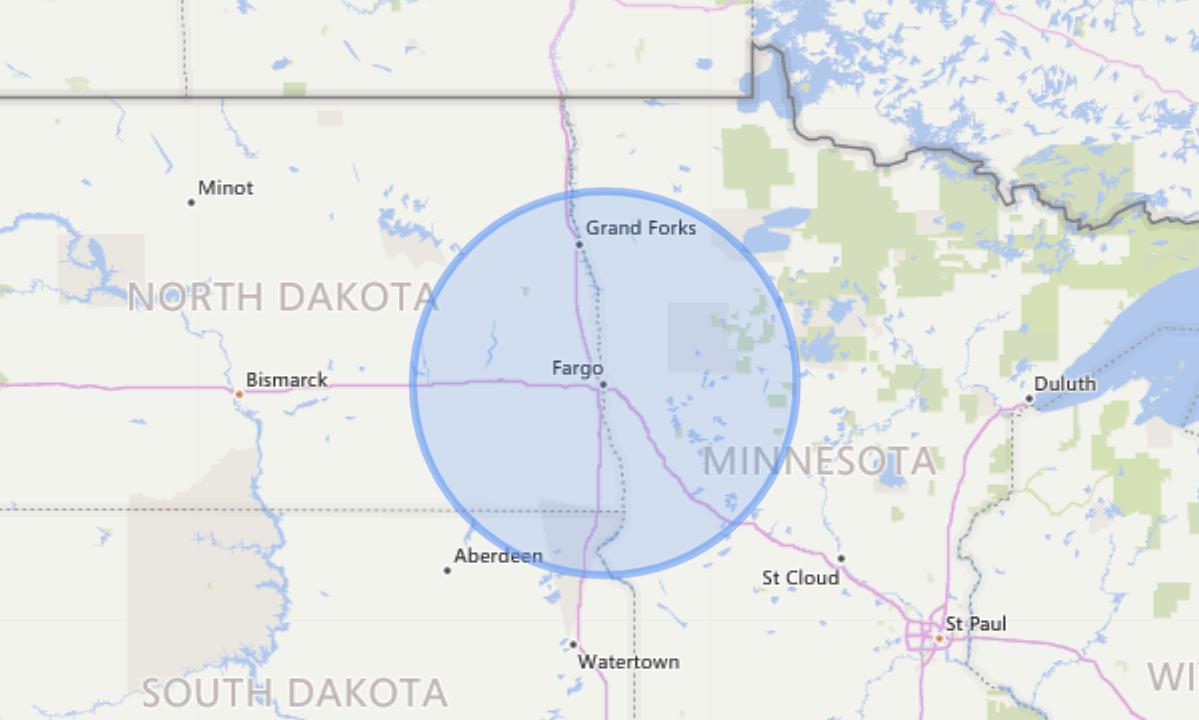 Dakota Medical Foundation Service Area