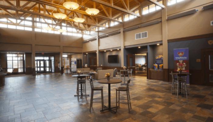 Dakota Medical Foundation Atrium space